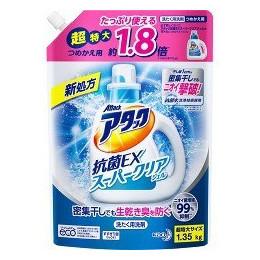 アタック抗菌EX スーパークリアジェル詰替1350G