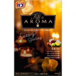 バブTheAROMA Luxury Feeling 12錠